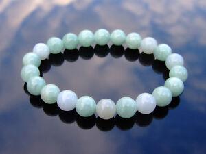 Canadian Jade Natural Gemstone Bracelet 6-9'' Elasticated Healing Stone Chakra