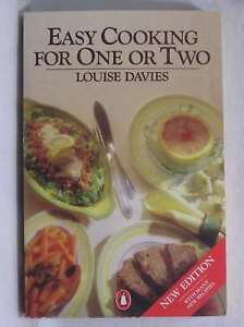Easy Cooking for One or Two Davies Louise Good Book - Dundee, United Kingdom - Easy Cooking for One or Two Davies Louise Good Book - Dundee, United Kingdom