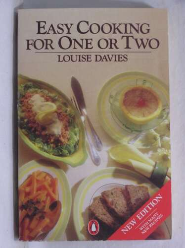 1 of 1 - Easy Cooking for One or Two, Davies, Louise, Good Book