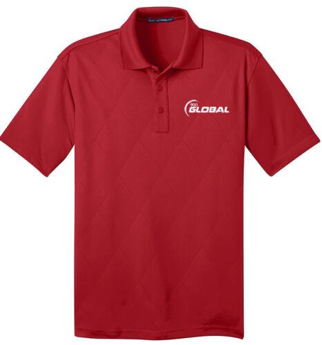 900 Global Men/'s Jewel Performance Polo Bowling Shirt Dri-Fit Argyle Regal Red