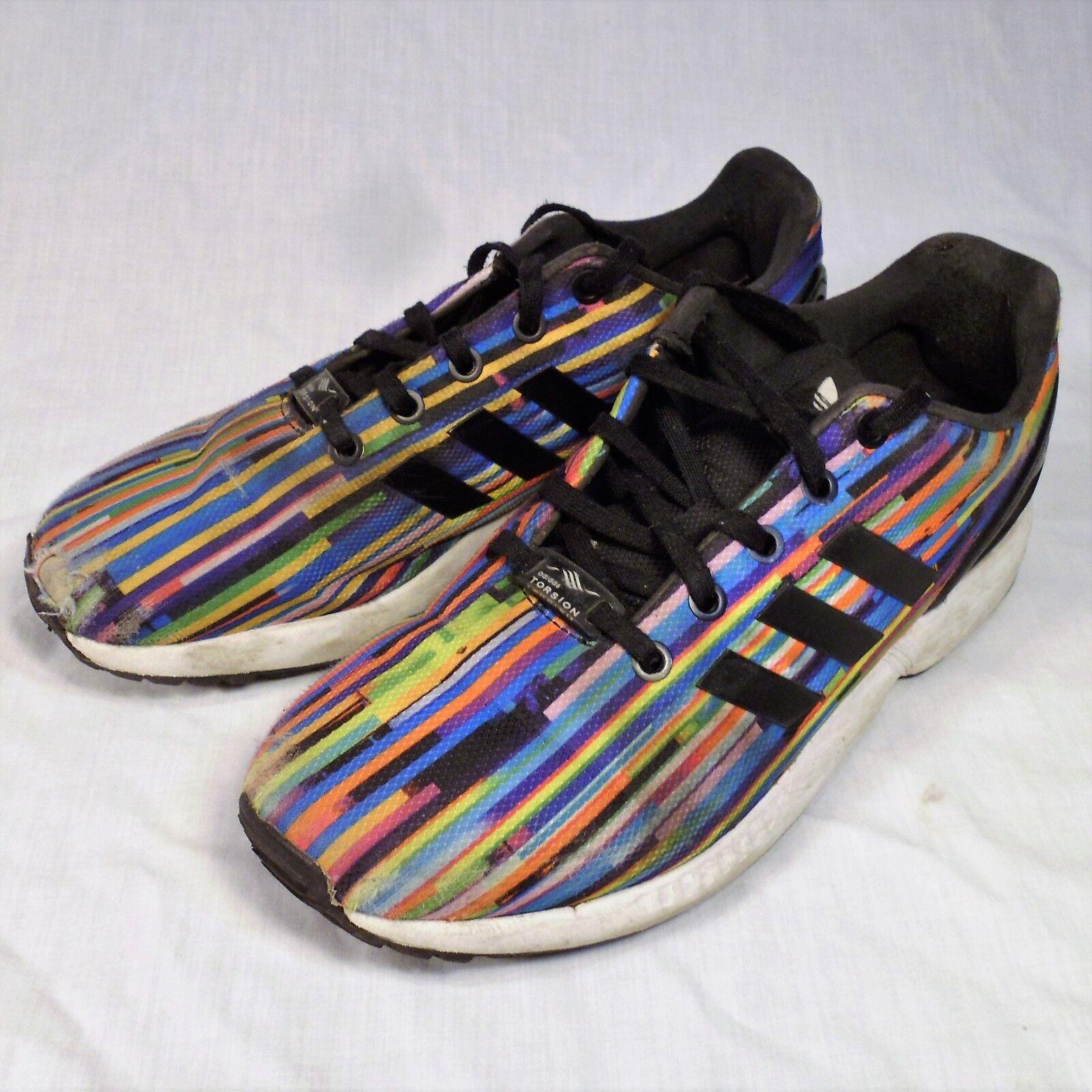Adidas ZX Flux Torsion Shoes Rainbow Prism 6.5 Sneakers Cheap women's shoes women's shoes