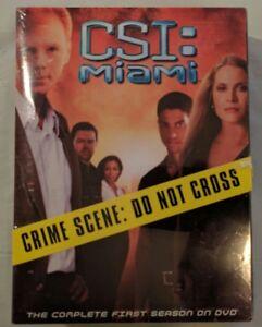 CSI-Miami-the-Complete-First-1st-Season-DVD-New-Box-Set