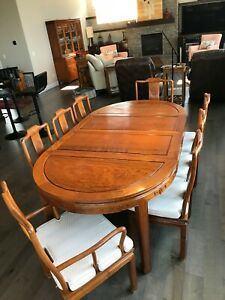 Details About Rosewood Dining Table And Chairs
