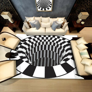 3D-Bottomless-Hole-Area-Rug-Carpet-Anti-Skid-Velvet-Floor-Mat-Home-Living-Room