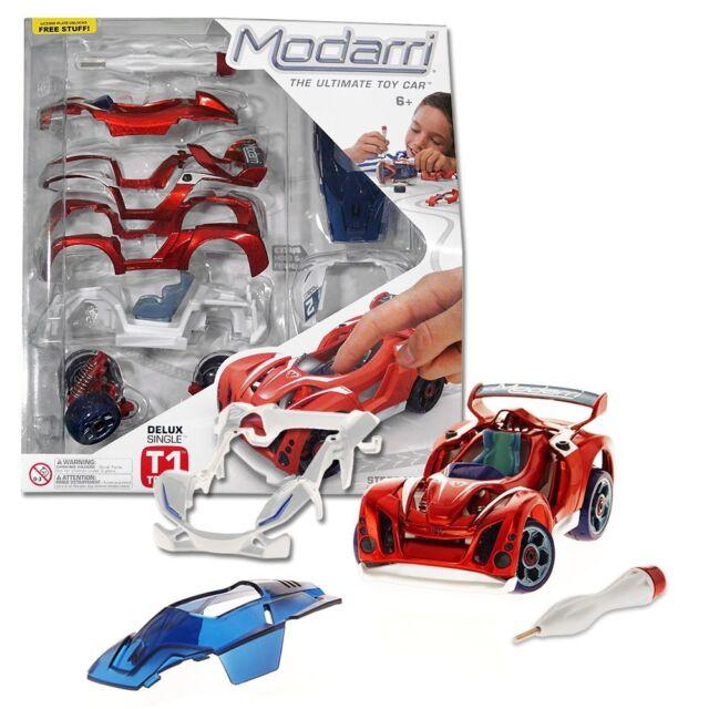 Build Your Own Car Kit >> Modarri Delux T1 Track Car Build Your Kit Toy Set Ultimate Make Own Thousands De
