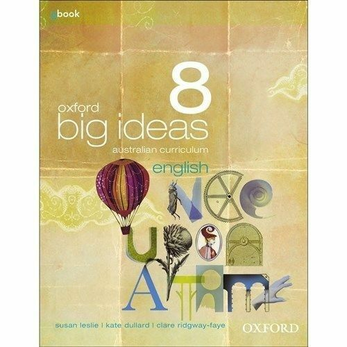 1 of 1 - Oxford Big Ideas English 8 Australian Curriculum Student Book + Obook by Susan …