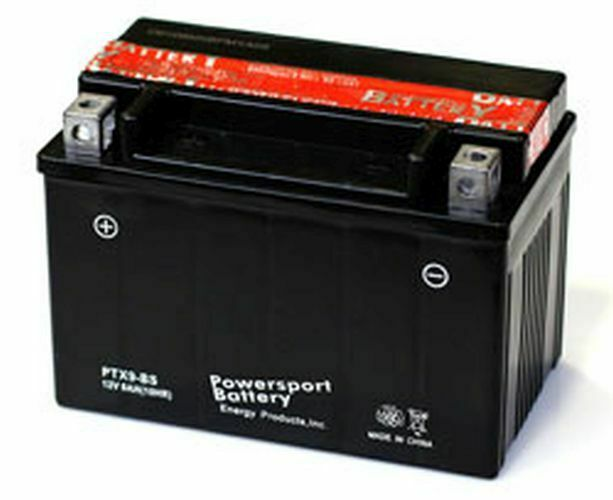 REPLACEMENT BATTERY FOR HONDA INDY 550 CLASSIC 550CC SNOWMOBILE 12V