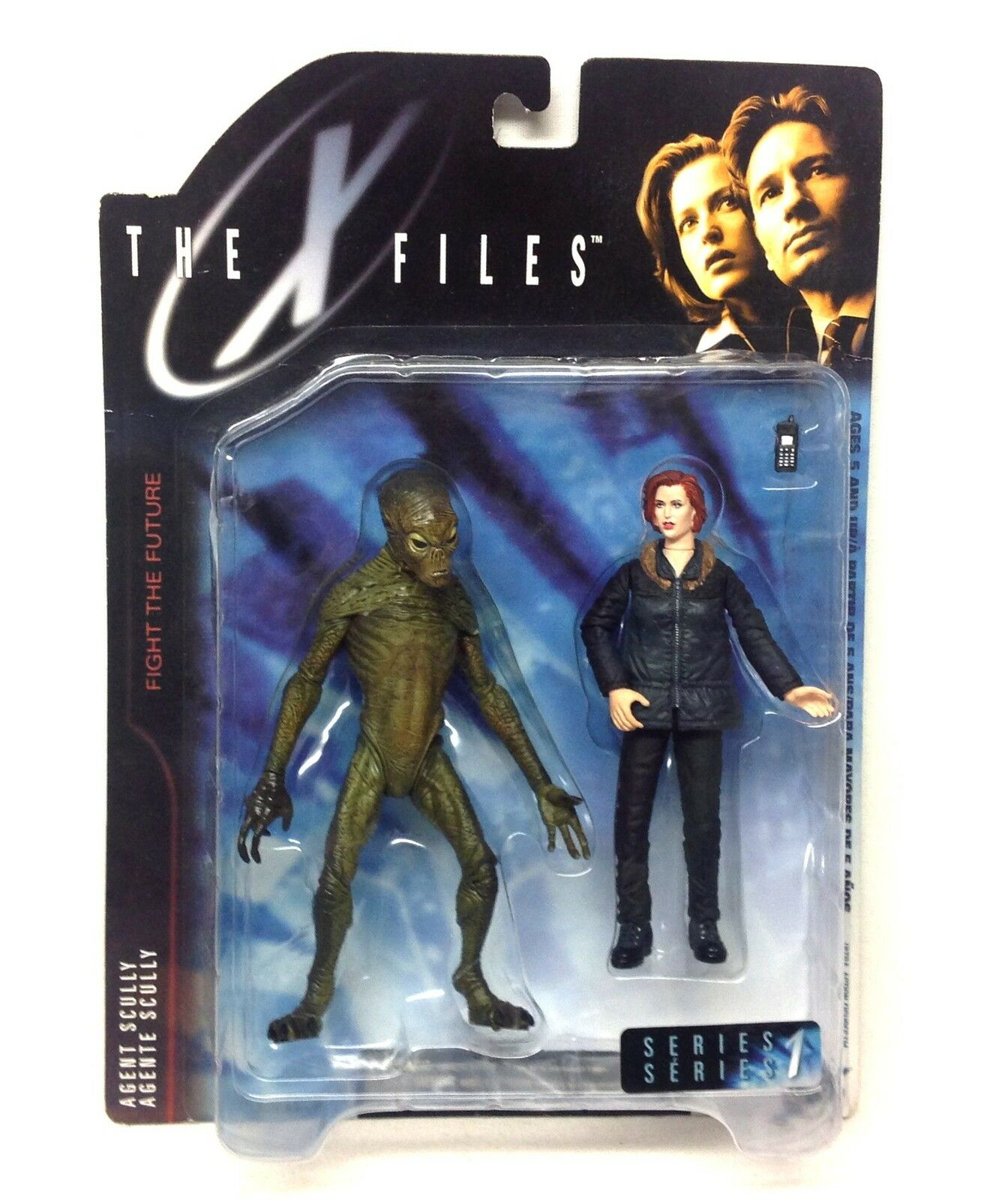 McFarlane giocattoli x  file Alieno & Dana Scully TV MOVIE cifra SET grei cifra   prezzo all'ingrosso