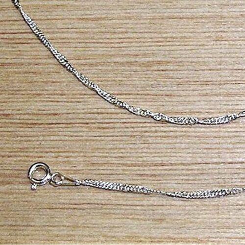 f91826765dcc CADENA de PLATA de LEY 925 a 50 cm Calidad y Precio Modelo Singapur ...