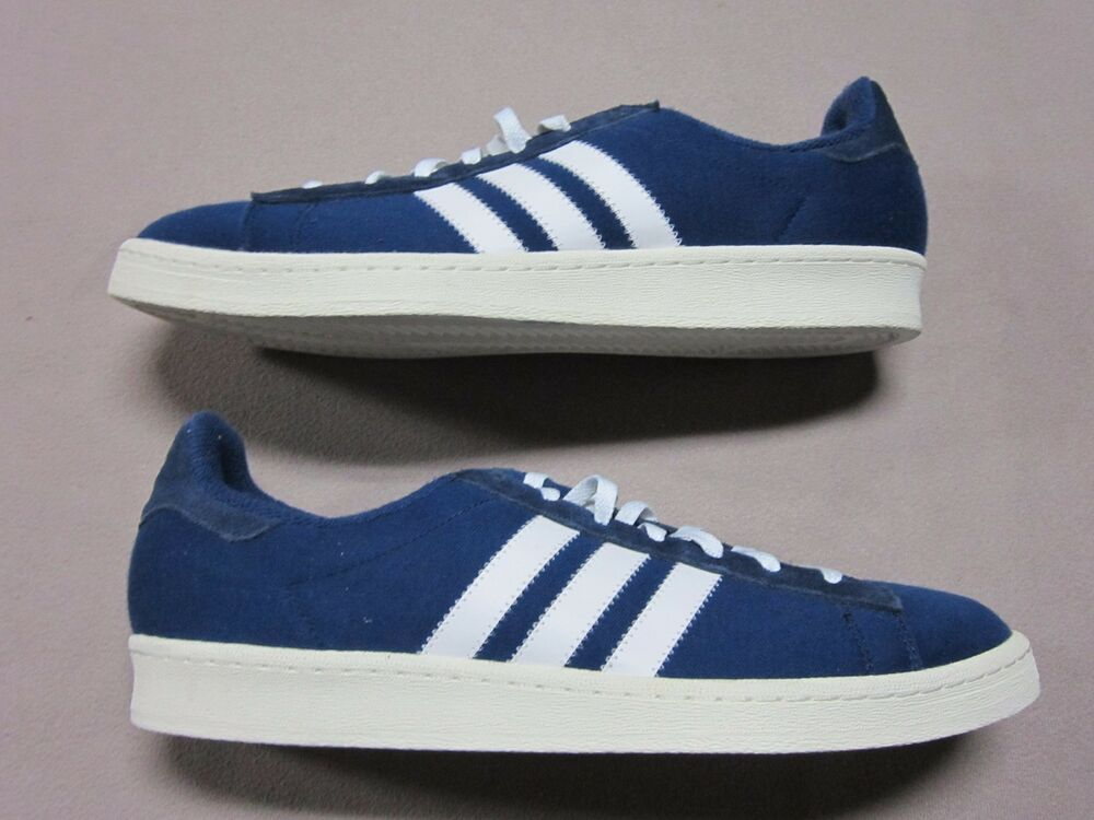 ADIDAS x BEDWIN & THE HEARTBREAKERS CAMPUS DARK Bleu chaussures Taille 12 NEW S75674