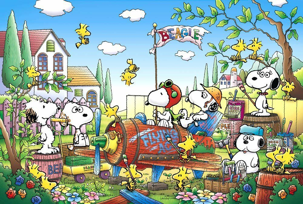 1000 pièces Souvenirs de Snoopy VACANT LOT (50x75cm) Epoch from Japan