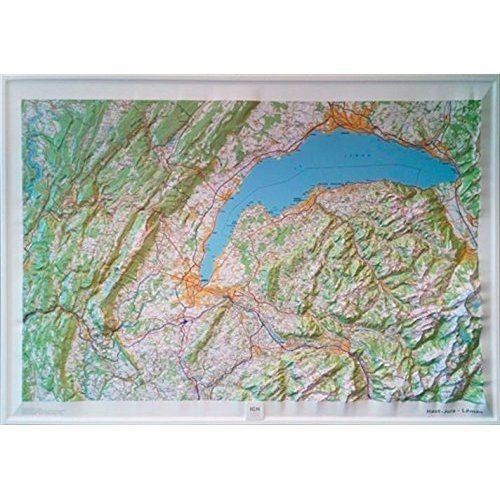 Haut-Jura - Leman Relief: IGNR60174: 2015 by Institut Geographique National...