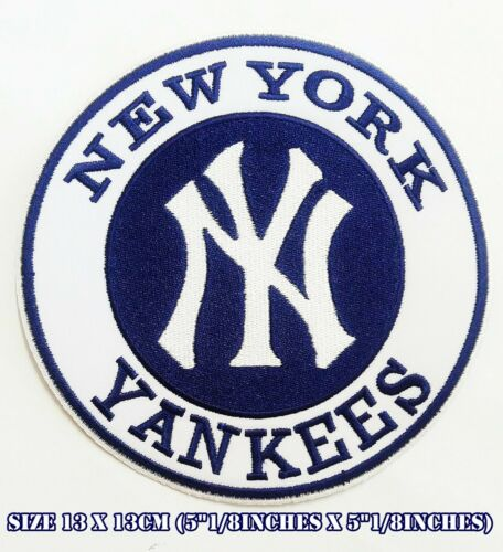 New York Yankees 13x13cm Baseball Sport Embroidered Patch logo iron/&sewing on