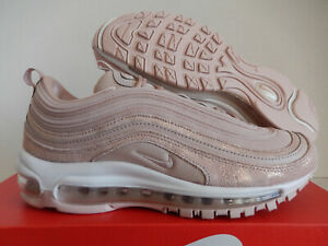 NIKE AIR MAX 97 SE WOMAN SHOES ROSE GOLD PINK BRONZE AV8198 200 | eBay