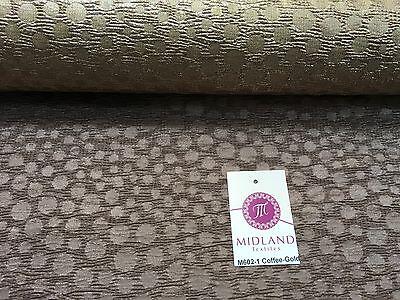 "Metallic Corduroy Foil Lame Fabric 1 way stretch 58"" wide M602 Mtex"