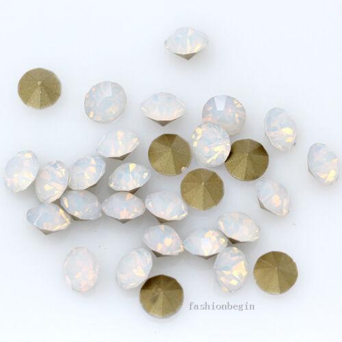 Punto de espalda frustrado 72//288p ss32 7mm Cristal Facetado Cristal Rhinestone Gema de Arte en Uñas