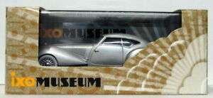 IXO-Models-Escala-1-43-MUS054-1937-Delage-D8-120-S-Pourtout-Aero-Coupe-Plata