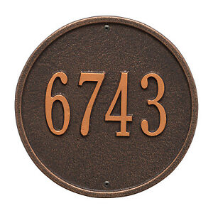Round-9-034-Diameter-Personalized-Address-Plaque
