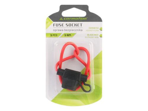 In-line Fuse  Blade Mini  Socket Hermetic Holder Splashproof Car Van