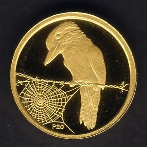 Australia-2009-2008-1-20th-oz-Gold-Kookaburra-5-Perth-Mint-Issue-Proof