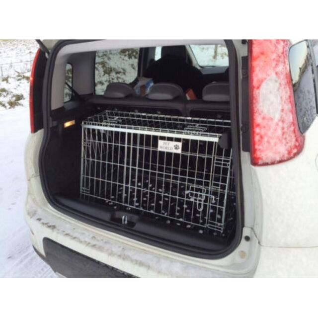 Double Pet World RANGE ROVER SPORT 2005 ONWARDS CAR DOG CAGE BOOT TRAVEL CRATE