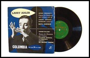 """2019 DernièRe Conception Un Original Années 1950 """"larry Adler"""" 10"""" Record Made In England-afficher Le Titre D'origine"""
