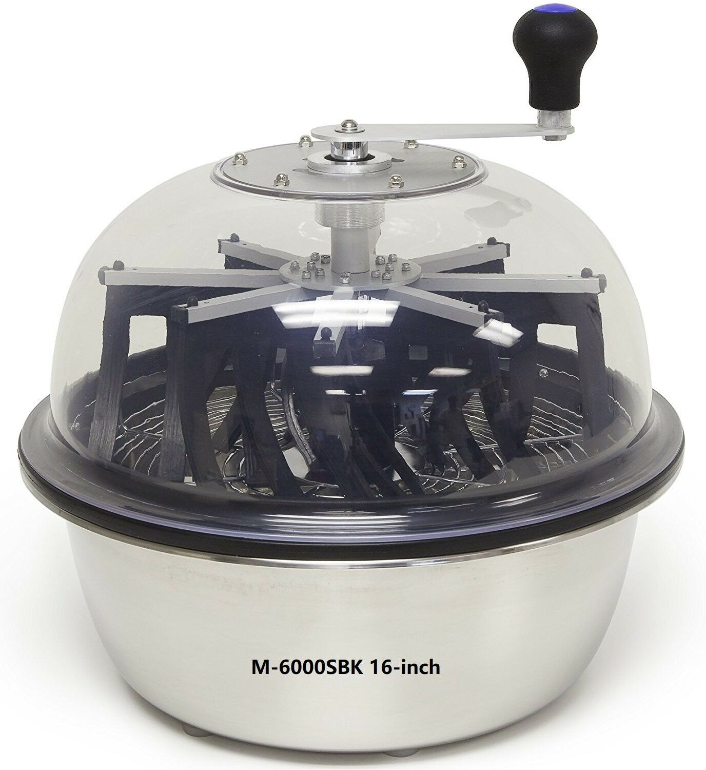 VR GROW the clean cut M-6000SBK Series Bowl Leaf Trimmer 16-inch Hydroponic Spin