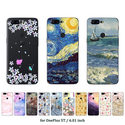 finest selection e9b40 1e85c Soft TPU Silicone Case For Oneplus 2 3 3T 5 5T Black Back Cover ...