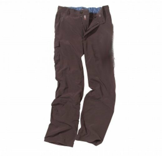 CRAGHOPPERS MENS NOSI CARGO Lightweight Walking Trousers - BROWN
