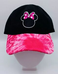 NWT Disney Minnie Mouse Baseball Cap Pink Child Size Licensed Disney