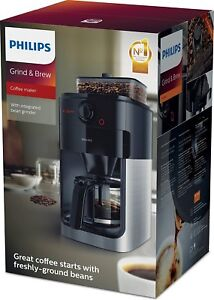 Image Is Loading Philips Hd7765 00 Grind And Brew Filter Coffee