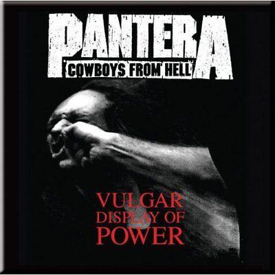 Pantera Fridge Magnet Calamita Vulgar Official Merchandise Acquista Ora