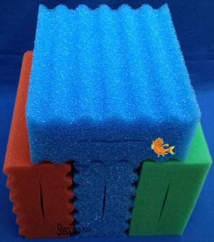 4  x  Filterschwamm passend  für Oase Biotec 5.1 Biosmart 18000 Koi Filter