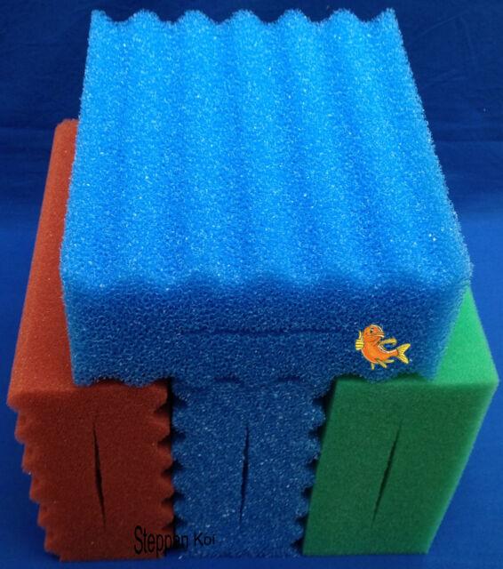 3 x Filterschwamm passend für Oase Biotec  5 10 Koi Biofilter