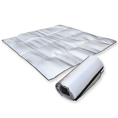 Sleeping Mattress Mat Pad Waterproof Aluminum Foil EVA Outdoor Camping Mat 1*2m