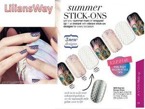 Avon nail art design stripsstick on nail wrapsdiy saloon worthy image is loading avon nail art design strips stick on nail prinsesfo Gallery