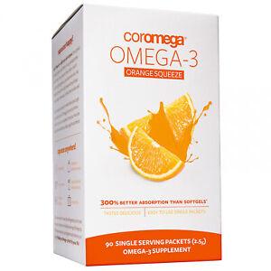 Coromega-Omega-3-Orange-Squeeze-90-Packets-2-5-G-Each