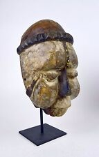 Carved wooden African mask from the Ibibio of Nigeria African Mask, African Art