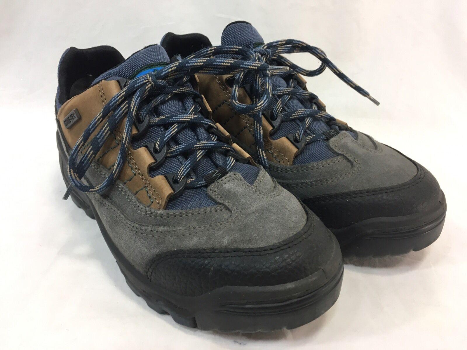 LL Bean Gore-Tex Niedrig Damenschuhe 9 Hiking Stiefel Schuhes Niedrig Gore-Tex Ankle Leder Suede Cresta EGUC c893eb