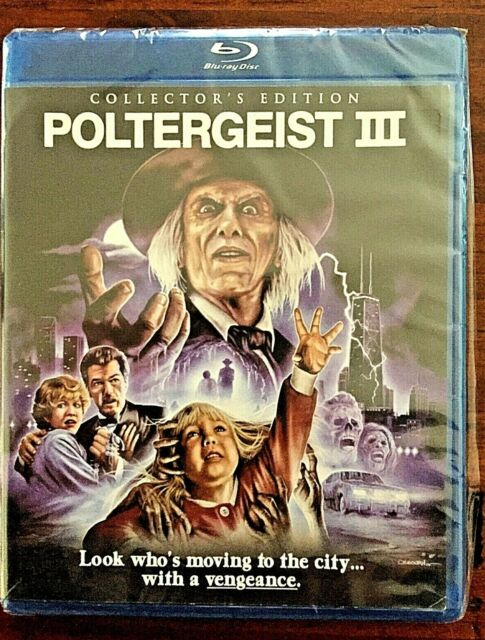 Blu Ray - Poltergeist III - Collectors Edition - Brand New & Sealed
