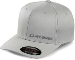 Dakine-SILICONE-RAIL-Mens-Flexfit-Hat-One-Size-Grey-NEW-2019-Sample
