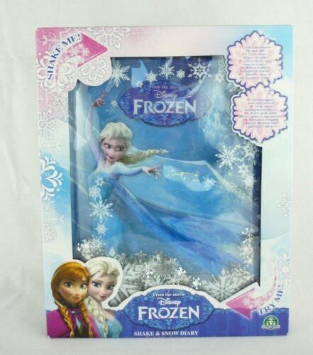 Disney Frozen Shake /& Snow Diary Tagebuch Die Eiskönigin Motiv Elsa