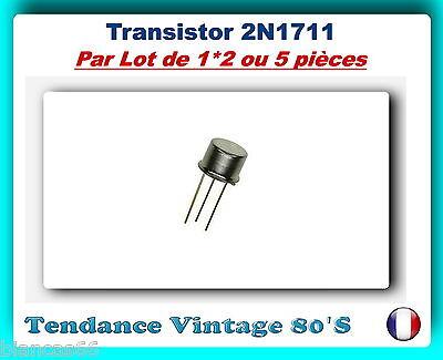 5x Transistors Bipolaire NPN BD139 Boitier TO126