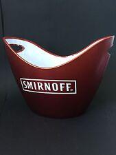SMIRNOFF VODKA Flaschen Kühler Design Deko Bar Ice Bucket Restaurant NEU OVP