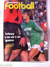 France Football du 19/02/1980; Johnny Rep et Saint-Etienne/ L'Eire Kevin Keegan