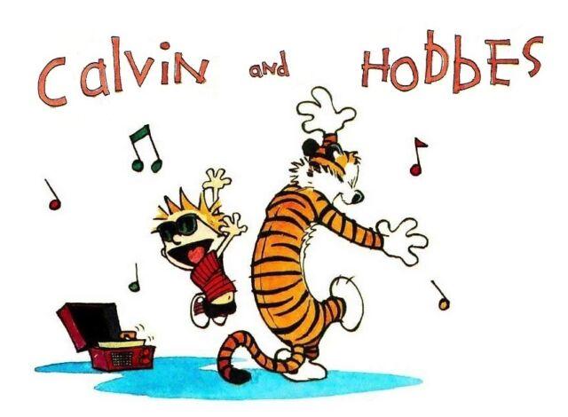 Calvin and Hobbes  # 10 - 8 x 10 Tee Shirt Iron On Transfer