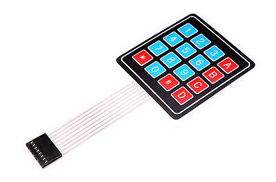 4x4 16 button Membrane Keypad Switch Numeric Array for Arduino Raspberry Pi USA