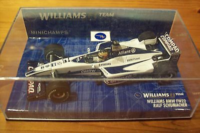 1/43 Williams 2000 Bmw Fw22 Ralf Schumacher-mostra Il Titolo Originale