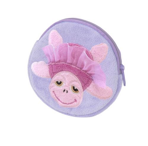 Suki Schildkröte Handtasche Geldbörse Rucksack kuschel Kissen lila rosa