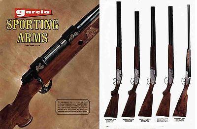Garcia c1972 Sporting Arms Catalog